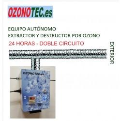 EXTRACTOR DESTRUCTOR POR OZONO