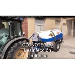 Fumigación y desinfección portátil