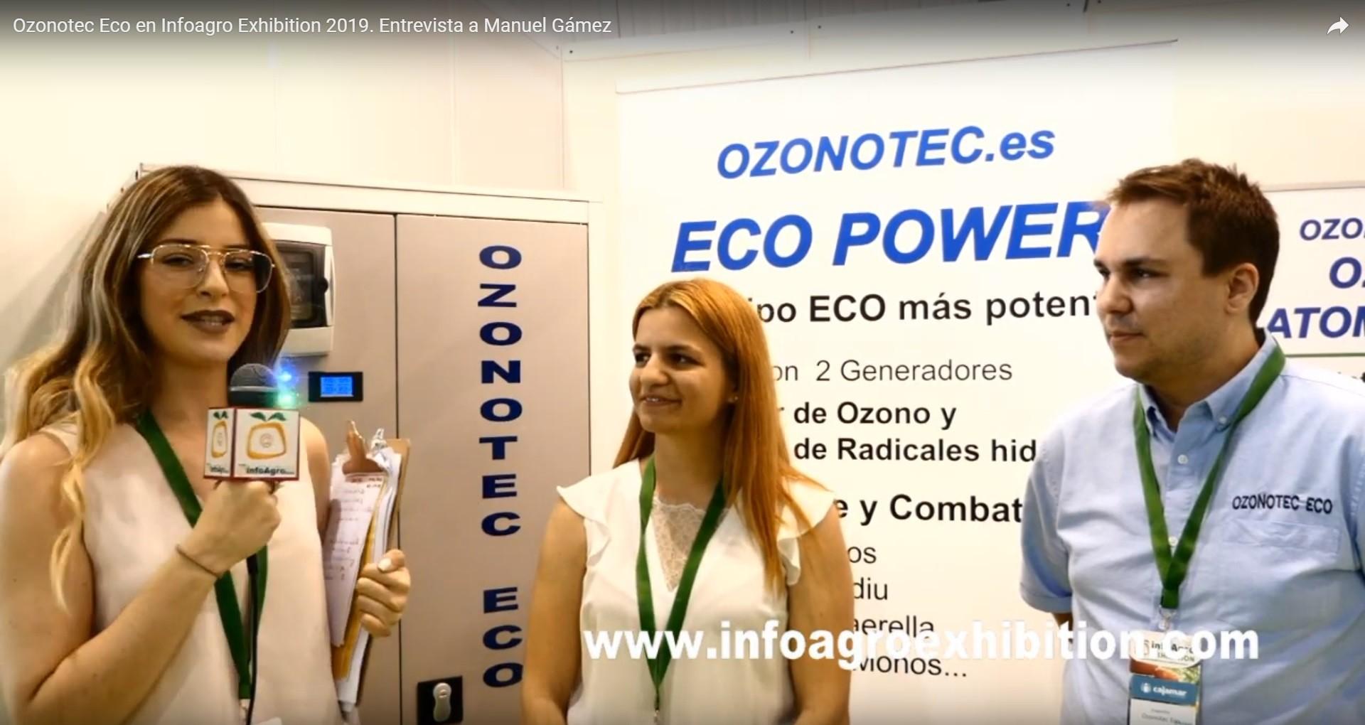 Presentación equipo de 2 Generadores (Ozono y Radical Hidroxilo) en InfoAgro